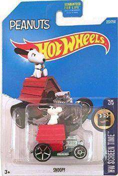 2015 Hot Wheels HW Screen Time Snoopy Dog House Car by Mattel