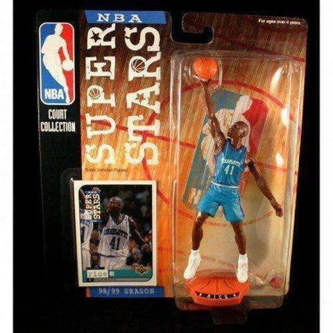 Glen Rice Charlotte Hornets NBA Superstars Figure NIB Court Collection NIP