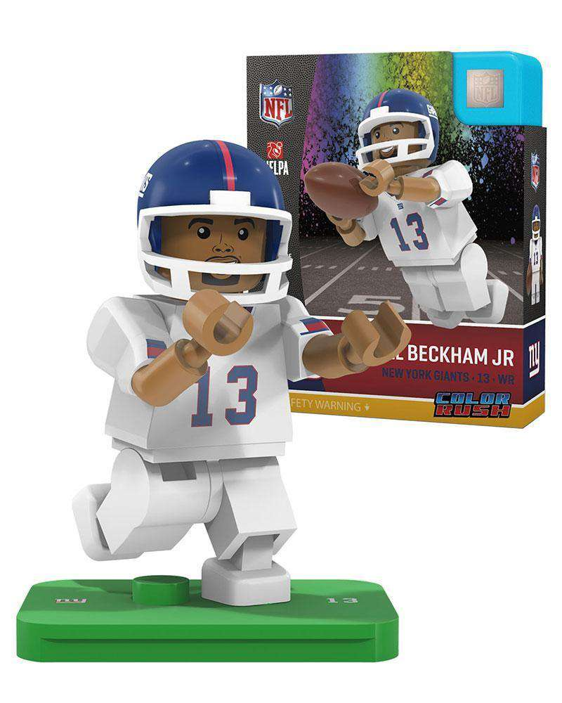 free shipping bb541 61eac Odell Beckham New York Giants NFL Player Minifigure by Oyo Sports