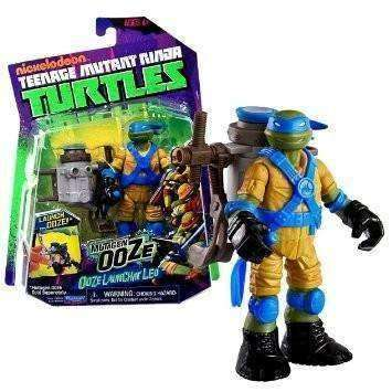 Teenage Mutant Ninja Turtles Mutagen Ooze Ooze Tossin' Leo Action Figure NIB Playmates TMNT Leonardo