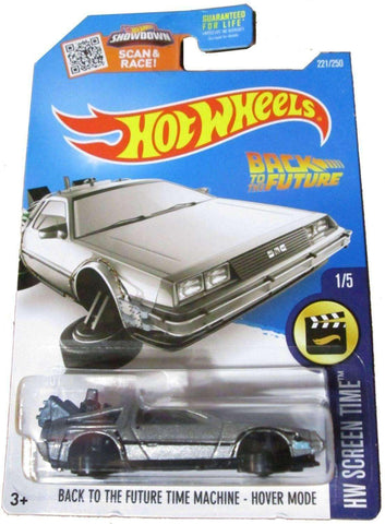 2015 Hot Wheels Back To The Future Time Machine Hover Mode by Mattel