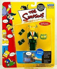 The Simpsons Montgomery Burns World of Springfield Interactive Figure by Playmates