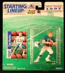 1997 Dan Marino Miami Dolphins NFL Starting Lineup Figure NIB Fins Phins New in Box Kenner