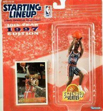 1997 Clyde Drexler Houston Rockets Starting Lineup NBA Action Figure Kenner NIB
