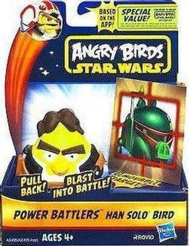 Angry Birds Star Wars Hans Solo Bird Power Battlers NIB Hasbro new in box