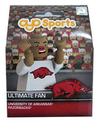 Arkansas Razorbacks Ultimate Fan minifigure by Oyo Sports