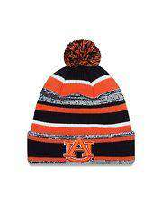 Auburn Tigers College Sport Knit Pom winter hat by New Era