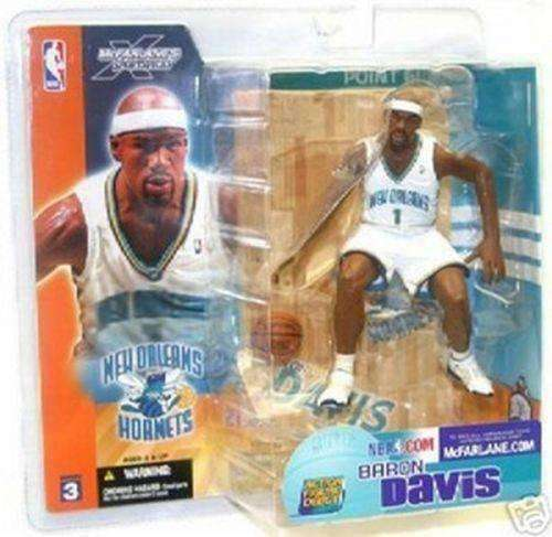 Baron Davis New Orleans Hornets Mcfarlane Action Figure Series 3 New NBA UCLA