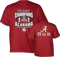 Alabama Crimson Tide 2009 National Champions shirt medium new TL Sportswear BAMA