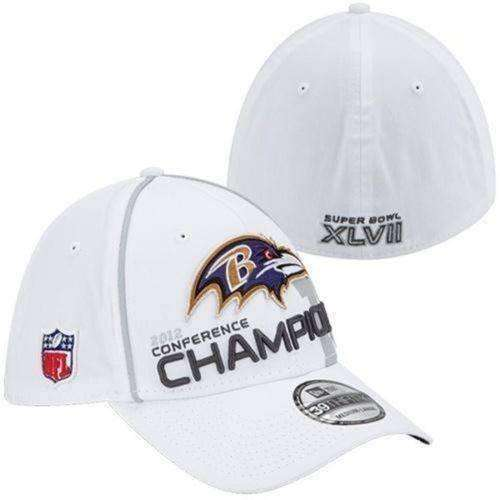 Baltimore Ravens 2012 AFC Conference Champions hat New Era NFL new 39Thirty d351946e072
