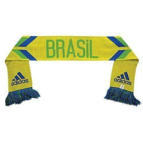 Brazil National Team Soccer Scarf by Adidas NWT Brasil Samba new with tags