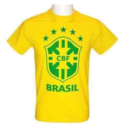 Brasil National Team Crest t-shirt by Source Lab Ltd.