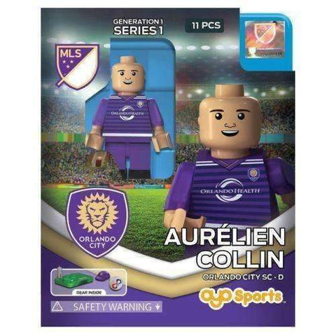 Aurélien Collin Orlando City SC Generation 1 Series 1 MLS Player mini figure by Oyo Sports