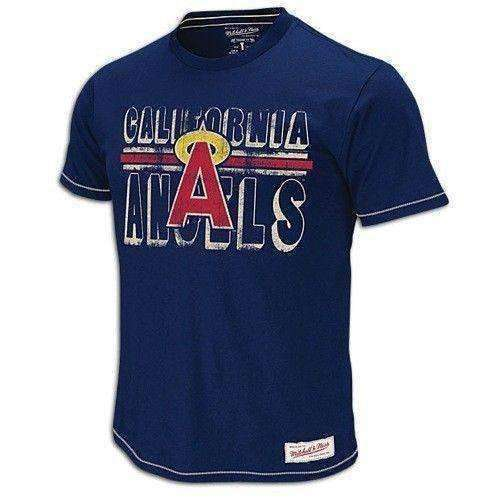 check out ec62f 3688c California Angels Mitchell & Ness MLB t-shirt NWT Baseball new with tags LA  new with tags
