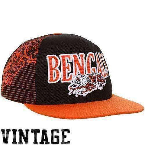 Cincinnati Bengals Snapback Hat by Mitchell & Ness