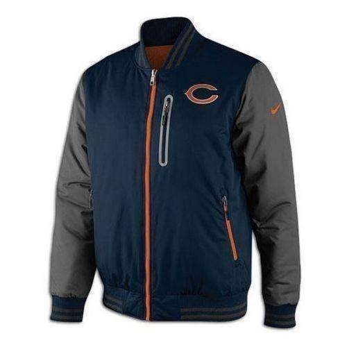 promo code 17e9d 28db5 Chicago Bears NFL NWT Nike Destroyer Reversible Jacket Da Bears NFC  Football new with tags