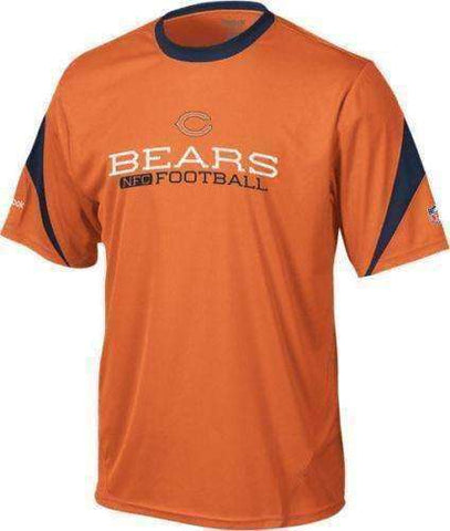 Chicago Bears NWT sideline inverter performance crew shirt Reebok NFC small NFL