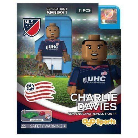Charlie Davies New England Revolution MLS Mini Figure Oyo Sports