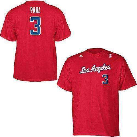 Chris Paul Los Angeles Clippers t-shirt by Adidas Size 2XL