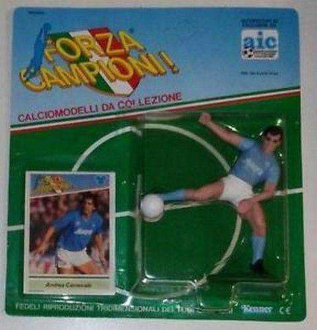 Andrea Carnevale Napoli Forza Campioni! Action Figure NIB Kenner Italy Serie A