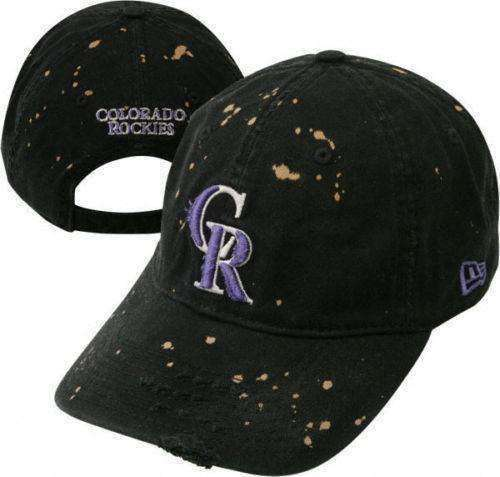 Colorado Rockies MLB new disheveled adjustable hat New Era Baseball Major  League dfaaf5f076e