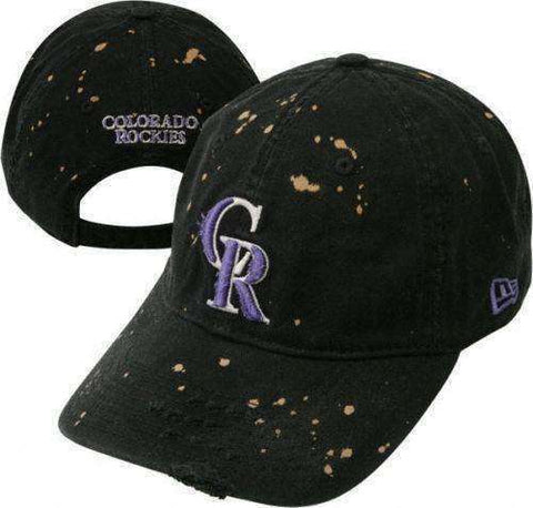 Colorado Rockies MLB new disheveled adjustable hat New Era Baseball Major League