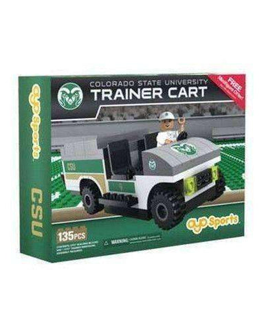 Colorado State Rams Trainer Cart Oyo Sports New in Box NCAA NIB 135 Pcs CSU NIB