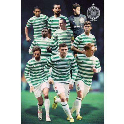 Celtic FC Scotland Players Poster officially licensed product new SPL Hoops