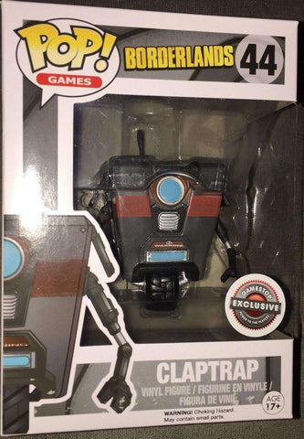 Claptrap Borderlands Pop! Games Funko NIB new in box 44 Gamestop Exclusive