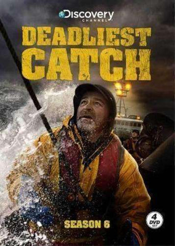 Deadliest Catch: Season 6 (DVD, 2010, 4-Disc Set) Discovery Channel TV Show New