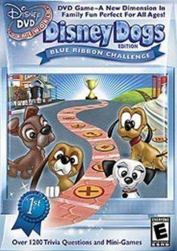 Disney DVD Game World Disney Dogs Blue Ribbon Challenge New in packaging NIP