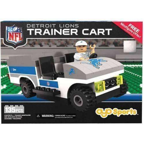Detroit Lions NFL Trainer Cart by Oyo Sports