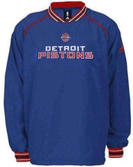 Detroit Pistons pullover jacket by Adidas Basketball new with tags NBA NWT