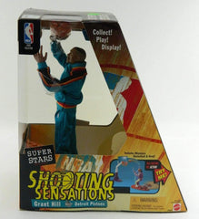 Grant Hill Detroit Pistons NBA Super Stars Action Figure Upper Deck NIB 99/00 Season