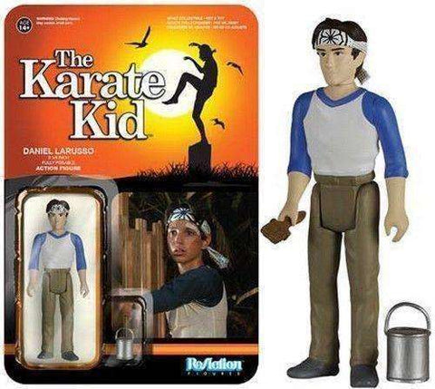 Daniel LaRusso The Karate Kid Reaction Figure NIB Funko NIP Action