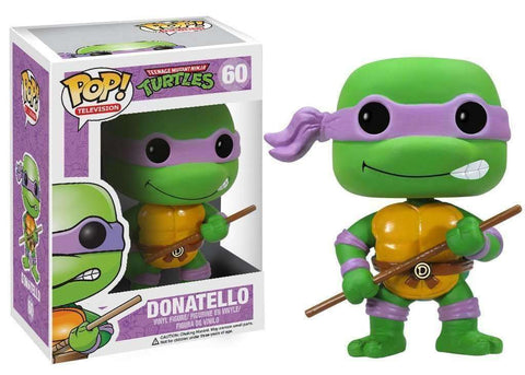 Donatello Teenange Mutant Ninja Turtles Pop! Television Funko NIB TMNT new in box 60