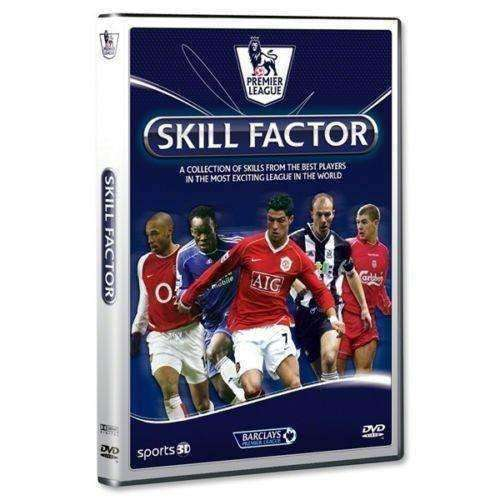 English Premier League Skill Factor DVD new Soccer MAN U Chelsea Liverpool