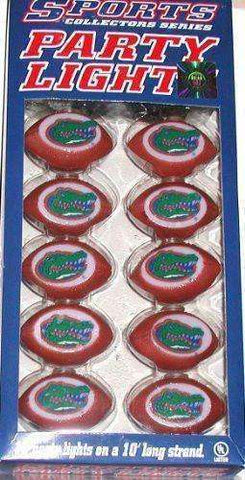 Florida Gators Football party lights 10 inch strand new in box SEC The Swamp UF