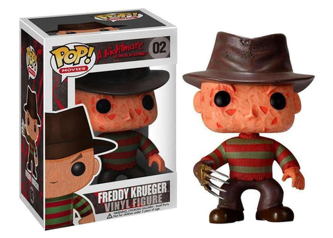 Freddy Krueger A Nightmare on Elm Street Pop! Movies Funko Vinyl Figure New in Box 02 NIP