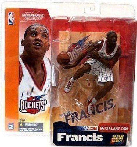 Steve Francis Houston Rockets McFarlane action figure NIB new in package