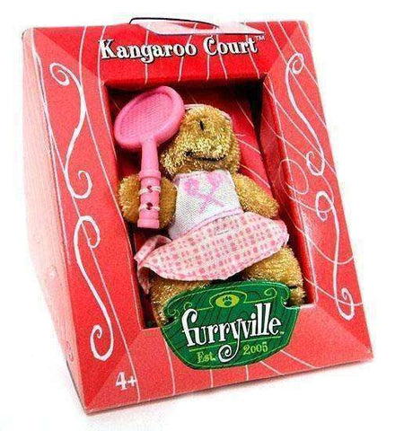 Furryville Kangaroo Court Figure by Mattel