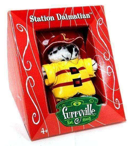 Furryville Station Dalmatian Figure by Mattel