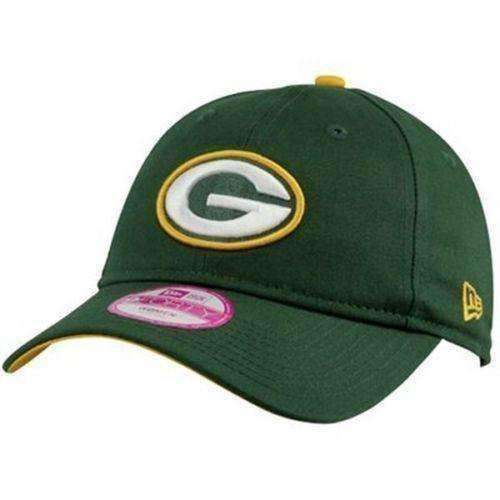 Green Bay Packers NFL New Era 9Forty Womens hat new in original packaging NFC