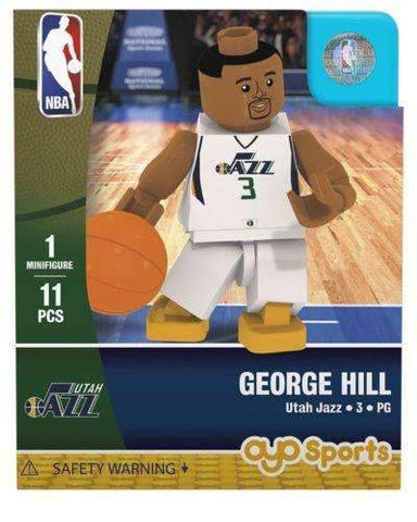 George Hill Utah Jazz NBA Player minifigure by Oyo Sports