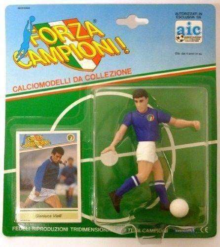 7be54dec 1989 Gianluca Vialli Team Italy Forza Campioni! action figure by Kenner