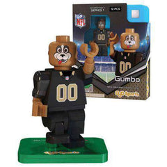 Gumbo New Orleans Saints NFL Player minifigure by Oyo Sports