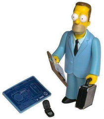 The Simpsons Series 1 Herb Powell Action Figure NIB Playmates Toys Fox