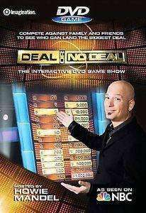 Deal or No Deal Interactive DVD Game Show DVD 2007 New NBC TV Game Show NIP