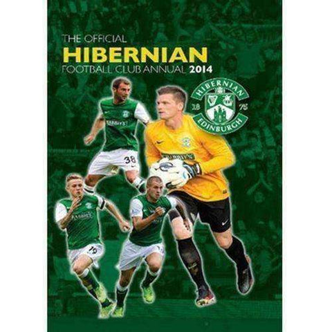 The Official Hibernian FC Annual Yearbook 2014 HIBS new Scottish Premier League
