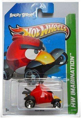 2012 Hot Wheels Angry Bird Red Bird Car by Mattel
